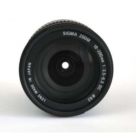 SIGMA Zoom 18-200mm F3.5-6.3 DC para Canon