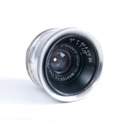 JUPITER 12 35mm f2,8 Silver (copia Biogon) montura M39