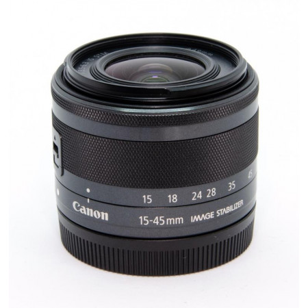 Canon EF-M 15-45mm f/3.5-6.3 IS STM Grafito