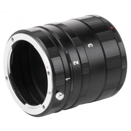 Walimex 17123 Tubos de extensión para Nikon F