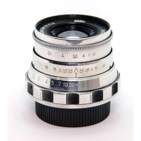 INDUSTAR 61 L/D 55mm f2.8 Chrome Montura M39 Lente vintage
