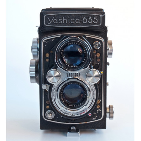 Yashica 635 TLR 6x6 Camara Vintage