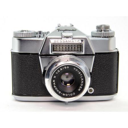 Voigtländer Bessamatic Deluxe + Color Skopar X 50mm F2.8