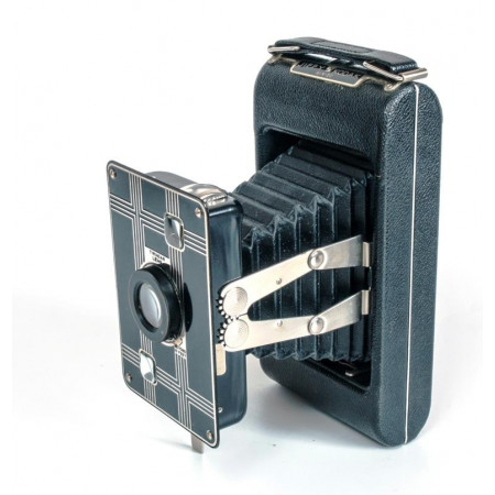 Jiffy Kodak Six-20 Art-Deco Camara de fuelle (1933)