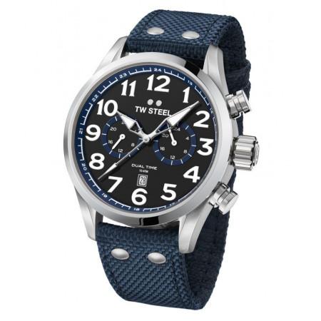 TW STEEL VS37 reloj para hombre correa azul