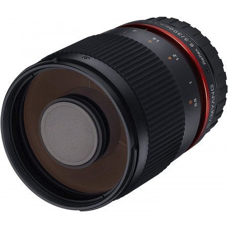 Samyang Reflex 300mm f/6.3 ED UMC CS Negro para Fuji FX