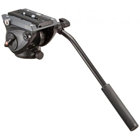 Manfrotto MVH500AH rotula de vídeo fluida Base plana