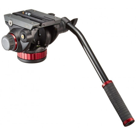 Manfrotto MVH502AH Rotula video profesional base plana