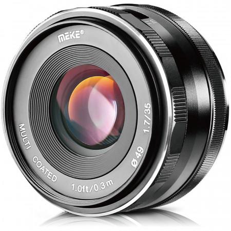 Meike MK 35mm f /1.7 para Canon EF-M – Objetivo manual