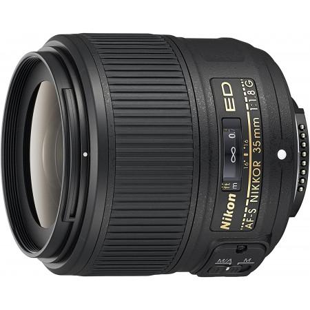 Nikon AF-S Nikkor 35mm f:1.8G ED para FX